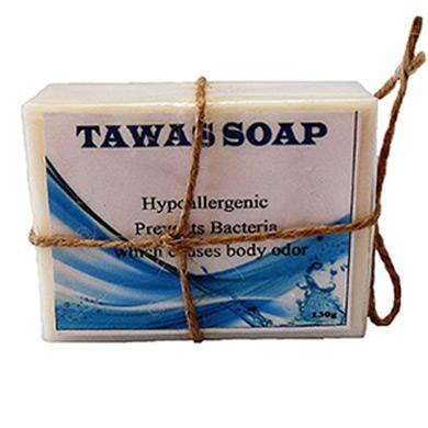 100% Натуральное мыло дезодорант на кокосовом масле и Квасцах 130гр