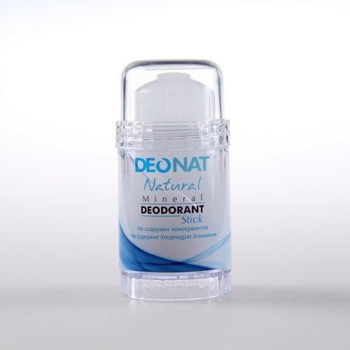 Кристалл - ДеоНат чистый, стик 80гр вывинчивающийся