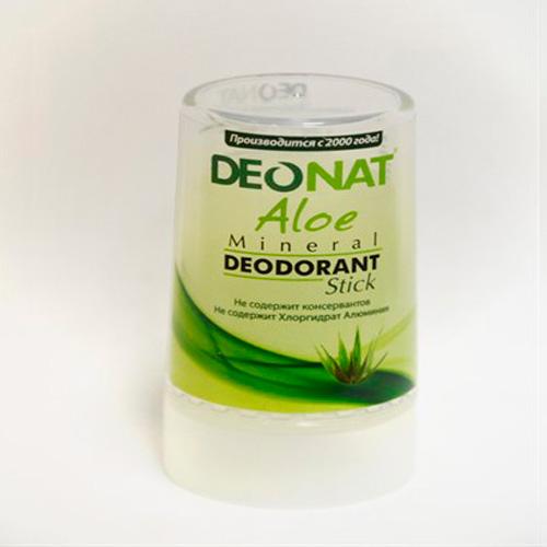 Кристалл - ДеоНат с соком Алое зеленый, стик 40гр