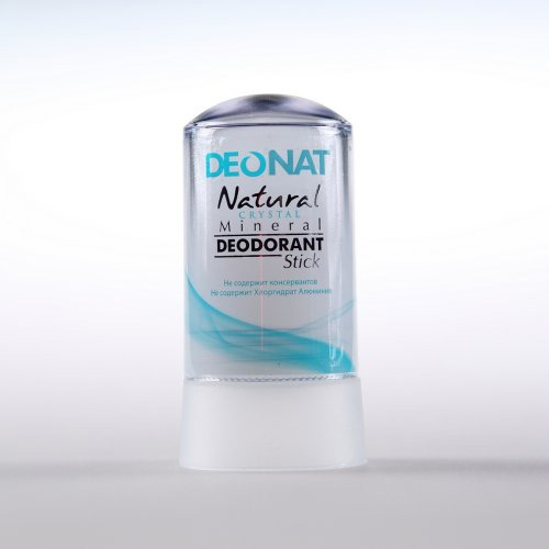 Кристалл - ДеоНат (Цельный) чистый, стик 60гр