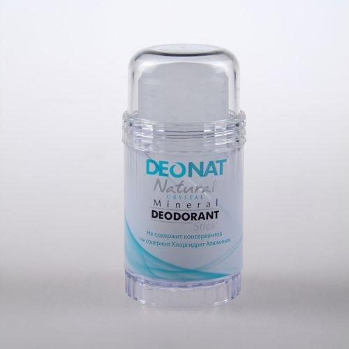 Кристалл - ДеоНат (Цельный) чистый, стик 80гр вывинчивающийся