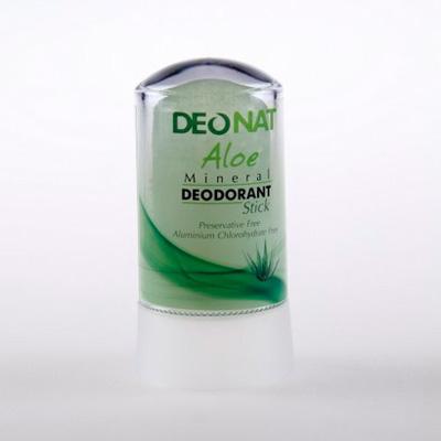 Кристалл - ДеоНат с соком Алое зеленый, стик 60гр